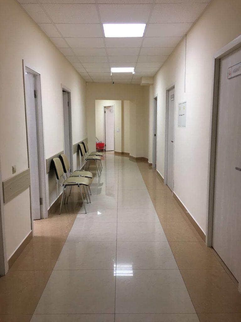 интерьер в семейной клинике Гармония